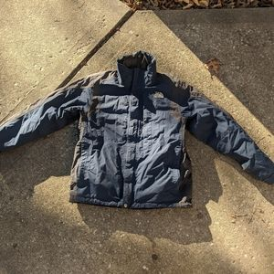 The North Face dual layer coat
